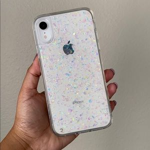 iPhone XR Velvet Caviar Opal Flakes case